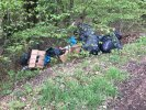 Flytipping in same place as I reported in March